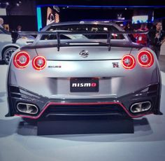 amazing rear end…  Nissan GT-R Nismo at NYIAS via NIssan