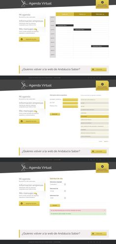 Diseño y programación de una app cloud y mobile para gestionar citas profesionales para la feria Andalucía Sabor. #app #diseño #mobile #proyecto