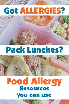 food allergy resources for people who pack lunch boxes