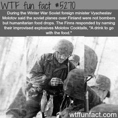 Molotov Cocktails - WTF fun facts