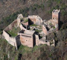 Château de Saint-Ulrich ~ Ribeauvillé ~ Alsace ~ France