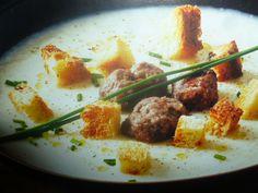 ricette cavolfiore - crema con salsiccia di bra