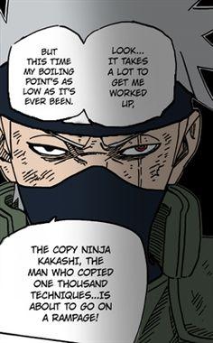 Fanfic / Fanfiction Mesmo nas perdas há ganhos - Uma história de Kakashi Hatake - Capítulo 8 - Limites