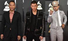 """""""Os homens mais estilosos do Grammy 2017 """""""