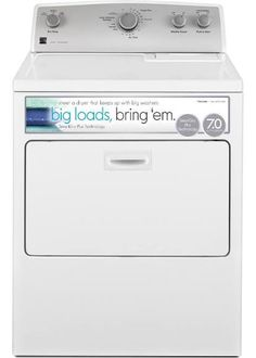 kenmore 26132. kenmore 65132 7.0 cu. ft. electric dryer w/ smartdry plus technology - white 26132
