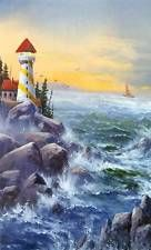 PBS Artist Jerry Yarnell 'The Lighthouse' instructional dvd in Acrylic