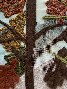 Textiles, Stitch, Artists, Full Stop, Fabrics, Sew, Stitches, Textile Art, Embroidery