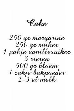 Recept cake