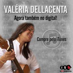 "Valéria Dellacenta agora também no digital! Compre o álbum ""Porque Ele Vive"" pelo iTunes: https://itunes.apple.com/br/album/porque-ele-vive/id666749117 #musicagospel #gospel #itbmusic #valeriadellacenta #porqueelevive #iTunes"