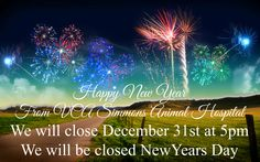 Happy New Year from our family to yours. We will be closing early December 31st at 5pm and we will be closed New Years Day. #2015 #HappyNewYear #Petresort #Doggydaycare