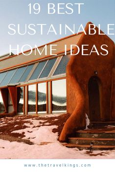 Here, you will find 19 of the best sustainable home ideas for you to discover and use as a jumping off point to investigate further Building A Tiny House, Tiny House Plans, Tiny House On Wheels, Tiny House Family, Tiny House Living, House Heater, Cheap Tiny House, Tiny House Appliances, Tiny House Trailer