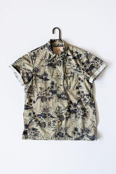 Orn Hansen x Dixon Rand Floral Camp Shirt [Dixon Rand Camp Shirt] : ORN HANSEN, Vintage + American Made General Store