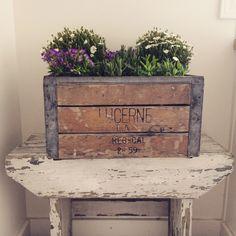 Little Farmstead: Vintage Wood Crates