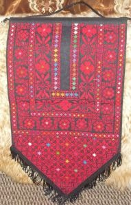 Embroidery, cross stitch wall hanging . Size 59*30 cm Price $45