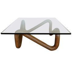 Sculptural Coffee Table by Harvey Probber, ca.1950 | From a unique collection of antique and modern coffee and cocktail tables at http://www.1stdibs.com/furniture/tables/coffee-tables-cocktail-tables/