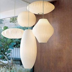 Shop the authentic Nelson Crisscross Saucer Pendant Lamp, a modern pendant light fixture in the iconic Bubble Lamp Collection by George Nelson. George Nelson, Nelson Bubble Lamp, Style Japonais, Touch Lamp, Arne Jacobsen, Design Within Reach, Plywood Furniture, Moroccan Decor, Decoration