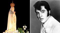 """Nossa Senhora de Fátima e o Rosário já foram cantados por um grande nome da música internacional, Elvis Presley, na canção """"The Miracle of the Rosary"""", a qual além da mensagem da Virgem Maria traz como pano de fundo uma história de conversão."""