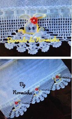 How to Crochet Wave Fan Edging Border Stitch Crochet Potholders, Crochet Blocks, Crochet Borders, Filet Crochet, Irish Crochet, Crochet Doilies, Crochet Flowers, Yarn Thread, Thread Crochet
