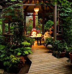 A tropical woodland gazebo – and wood burning fire pit – very pretty! Descriptio… A tropical woodland gazebo – and wood burning fire pit –. Outdoor Rooms, Outdoor Gardens, Outdoor Living, Outdoor Decor, Outdoor Walkway, Paver Walkway, Small Gardens, Outdoor Ideas, Gazebos