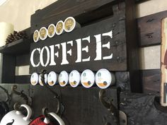 Wood Pallet Coffee Station Office Coffee Station, Wood Pallets, Projects, Log Projects, Blue Prints, Pallet Wood, Wooden Pallets, Crates