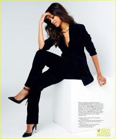 a675f4b8c5f49 Zoe Saldana Covers 'Gotham' Magazine September 2012 Business Outfit,  Business Wear, Business