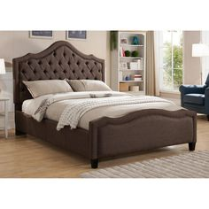 Milton Green Star Romilly Platform Bed, Size: California King