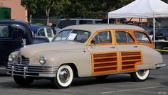 1948 Packard Station Sedan - Arizona Beige