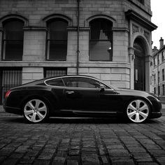 Bentley GTS Black Edition. OK. if you have access to that one would you mind give it to me for a testride? ;-)