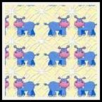 free hippo backing paper pack