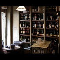 my favorite winebar in Trastevere Rome.