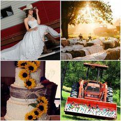 Country Wedding Wednesday  Style #50310