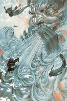 James Jean art to remind me how windy Colorado is!