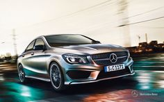 Mercedes-Benz CLA. Fuel consumption combined: 6,2-4,2 l/100km, CO2 emissions combined: 144-109 g/km. #MBCars
