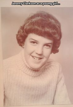 Young Jeremy Clarkson… Top Gear UK!
