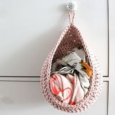 crochet storage (toys, laundry, scarves)
