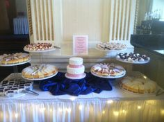 Sweets Table with 2 tier