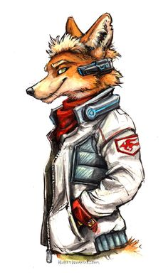 Jetstream Fox McCloud by kenket Hack And Slash, Furry Pics, Furry Art, Viewtiful Joe, Dreamland, Fox Mccloud, Furry Wolf, Star Fox, Anthro Furry