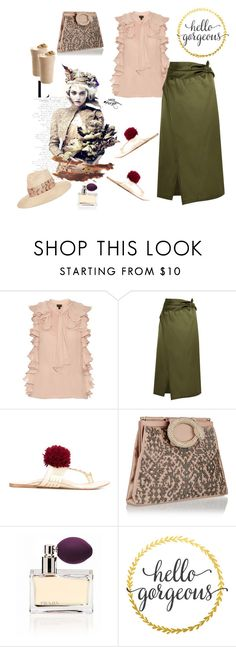 """Sergeant Summer"" by juliabachmann ❤ liked on Polyvore featuring Giambattista Valli, 3.1 Phillip Lim, Figue, Prada and Eugenia Kim"
