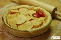 Μηλόπιτα αμερικάνικου τύπου, τέλεια! Weird Food, Camembert Cheese, Dairy, Cookies, Ethnic Recipes, Sweet, Desserts, Apples, Crack Crackers