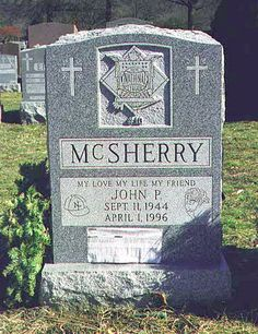 John McSherry (1944 - 1996) Major League Baseball umpire, collapsed and died during a game