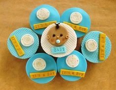 Baby Shower Cupcake Ideas - Baby Gifts and Baby Showers - Making them unique | Shower Ideas