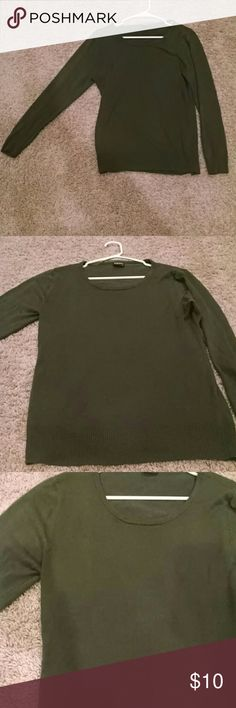 Emerald green sweater A soft summery sweater light and thin  very flattering and between a loose and tight fit depending on your body type , has a rounded neck line Kelso Tops Sweatshirts & Hoodies