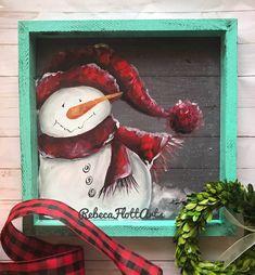 Snowman Crafts, Christmas Crafts, Christmas Snowman, Snowman Pics, Tole Painting Patterns, Wood Patterns, Henna Patterns, Snowmen Pictures, Face Painting Tutorials