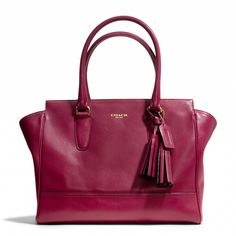The Legacy Medium Candace Carryall in Leather From Coach