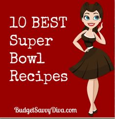 Pin and Enjoy! Perfect for the Super Bowl Sunday