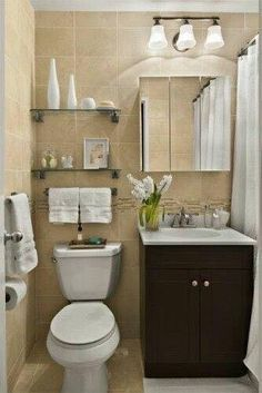 Want a half bathroom that will excite your guests when amusing? Update your bathroom design in a snap with these budget-friendly, adorable half bathroom ideas. Bad Inspiration, Bathroom Inspiration, Bathroom Design Small, Bathroom Designs, Bath Design, Small Bathrooms Decor, Small Bathroom Ideas, Girl Bathroom Decor, Small Bathroom Interior
