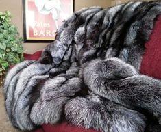 Gambrell Renard Classic Silver Fox Throw – Most Beautiful Fur Models Grand Chat, Faux Fur Bedding, Fluffy Bedding, Cashmere Fabric, Fur Rug, Fur Accessories, Fur Blanket, Faux Fur Throw, Custom Rugs