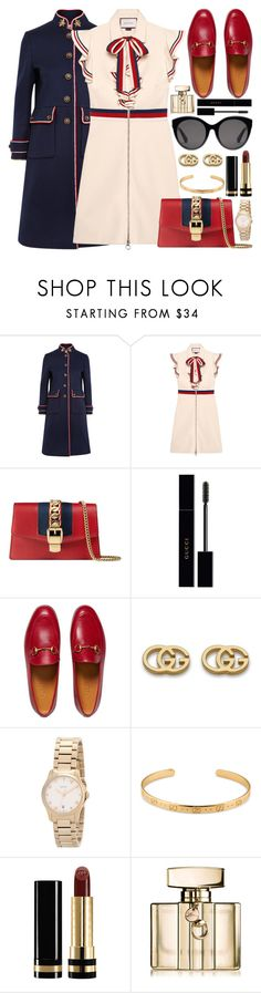 """""""G U C C I / /"""" by douxlaur ❤ liked on Polyvore featuring Gucci and minibags"""