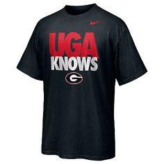 Nike Georgia Bulldogs UGA Knows Tee - Men