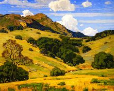 The Athenaeum - To Mountain Heights and Beyond (William Wendt - 1920)